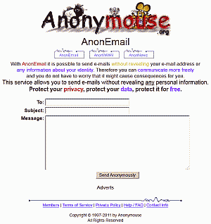 Anonymouse Email