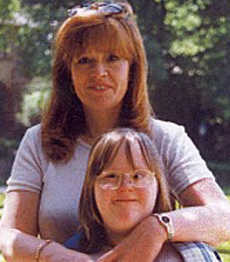 Hollie Greig and her mother Anne